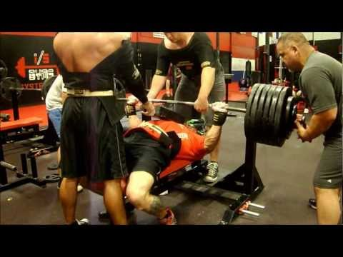 Powerlifting Bench Press Training 9-16-12 @ Bad Attitude Gym - Dallas ,Texas Image 1