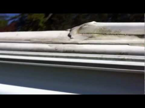 Replacing the awning fabric on an A&E model 8500 RV awning. (Part 1) By How-to Bob