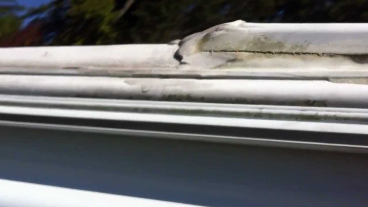 Replacing the awning fabric on an A&E model 8500 RV awning ...