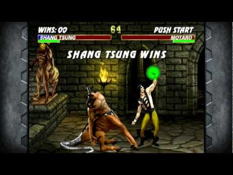 Mortal Kombat 3 - Shang Tsung Playthrough HD