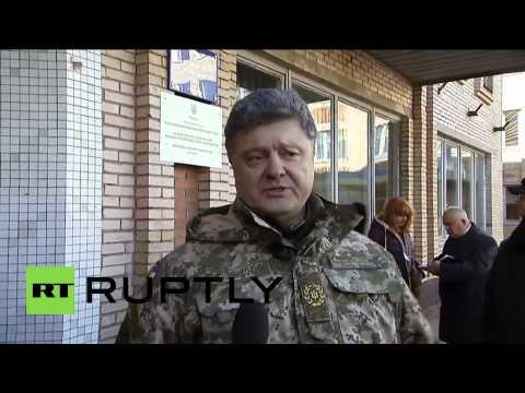 Ukraine: Poroshenko hails
