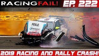 Racing and Rally Crash Compilation 2019 Week 222