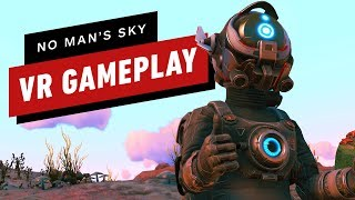 10 Minutes of No Man's Sky: Beyond PlayStation VR Gameplay