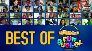 Best Of Fun Bucket | Hilarious Comedy Collection | by Harsha Annavarapu