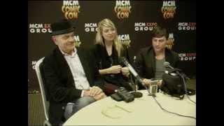 Morganville - Robert Picardo, Amber Benson, Ben Easter Exclusive Press Interview Oct 2014