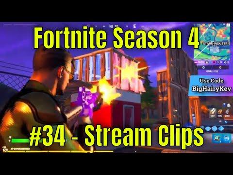 Fortnite Season 4 #34 - Stream Clips