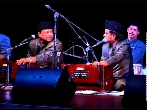 Warsi Brothers' Qawwali Performance At Efl University, Hyderabad On 6th April 2014 video