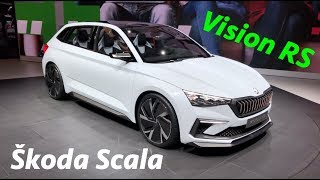 New Škoda Vision RS is Škoda Scala -soon to replace the Rapid