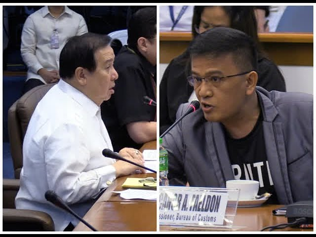Faeldon, Gordon clash at Senate probe on P6.4-B shabu shipment