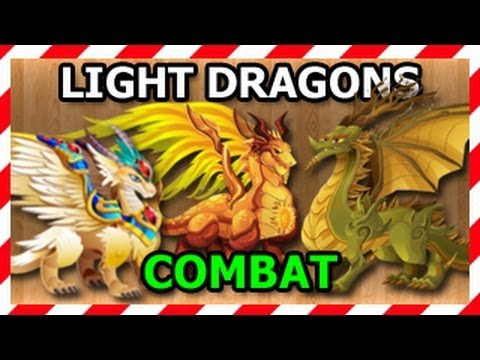 Watch Combat: ARCHANGEL Dragon SUN Dragon GAIA Dragon Attacks in Combat Wold