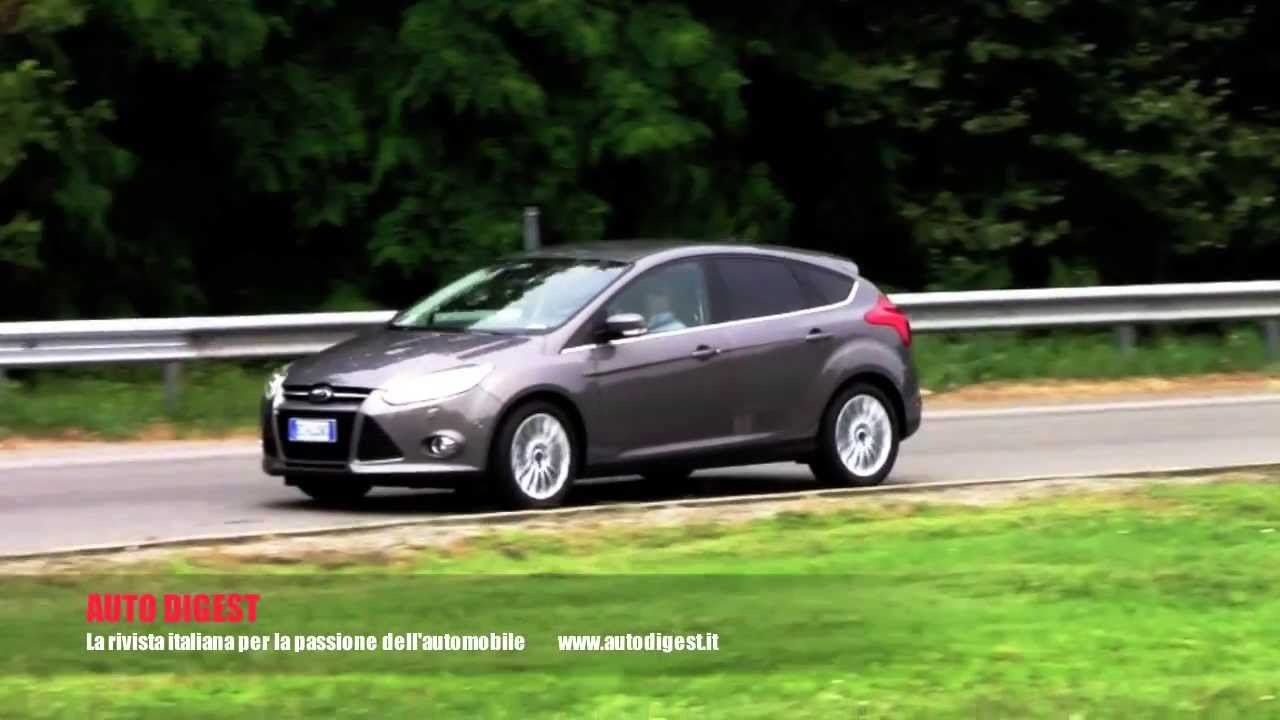nuova ford focus 1 0 ecoboost 125 cv fast test youtube. Black Bedroom Furniture Sets. Home Design Ideas