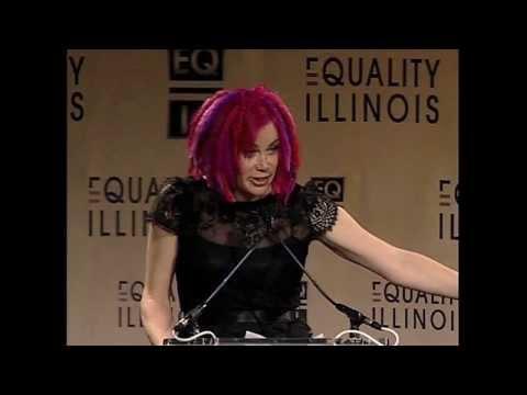 Equality Illinois 2014 Gala - Lana Wachowski Accepts Freedom Award