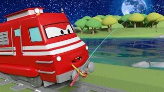 Xe lửa dành cho thiếu nhi - Tina bị mất chiếc Nơ - Thành phố xe 🚉 phim hoạt hình về