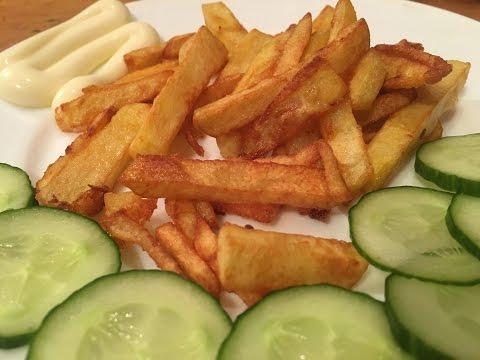 Картофель фри на сковороде, Вкусная картошка фри в домашних условиях, Картофель Фри