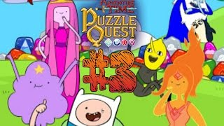 ► ADVENTURE TIME - PUZZLE QUEST: #3 - GAMEPLAY - ESPAÑOL -  HORA DE AVENTURA