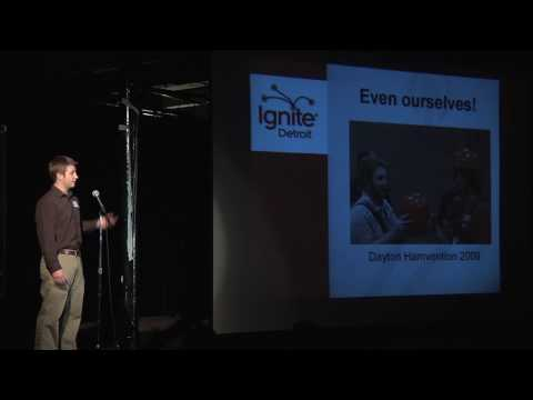 Ignite Detroit #1: Hamming It Up by Andew Herron