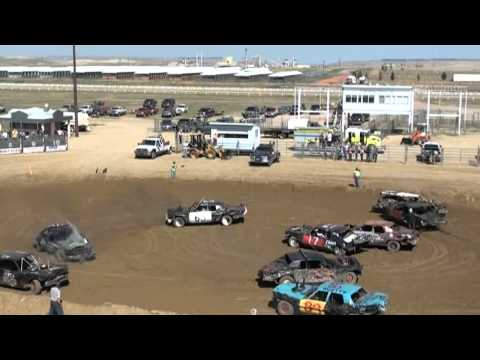 gillette wy demolition derby main event aug 2012 Music Videos