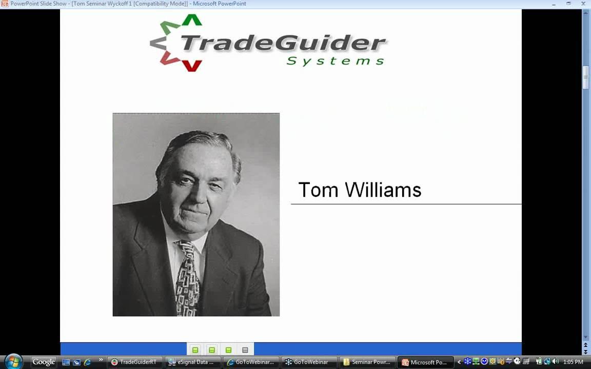Tom williams vsa forex