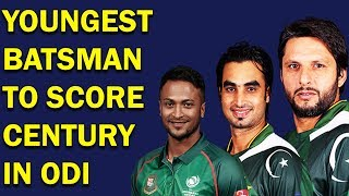 Top 10 Youngest Batsman to Score Century in ODI Cricket