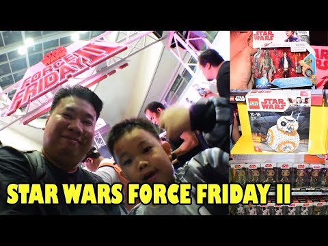 STAR WARS FORCE FRIDAY II IN MANILA (SEPT 1, 2017)