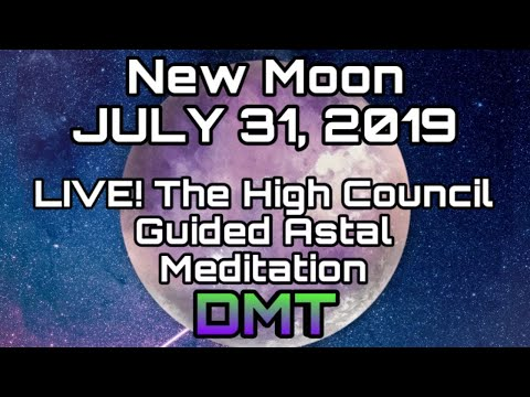 July's 2nd NEW MOON LIVE! Energy Update, Tarot & Oracle & Live Guided Astral Meditation & DMT