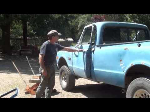 1969 GMC 3/4 ton 4x4 Door Replacement