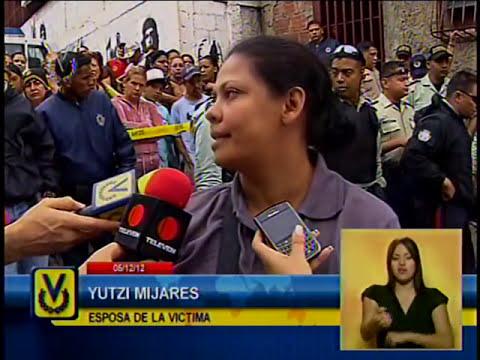 Asesinan oficial de la policía de Caracas para robarle un arma de fuego