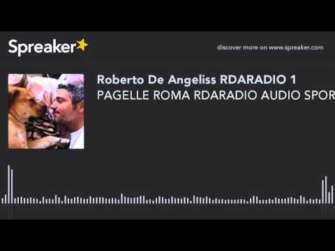 PAGELLE ROMA RDARADIO AUDIO SPORT NEWS G TIMPANO Roma-Frosinone (creato con Spreaker)