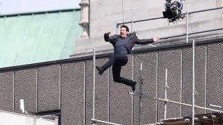 Tom Cruise Stunt Injury on 'Mission: Impossible 6' Set in London