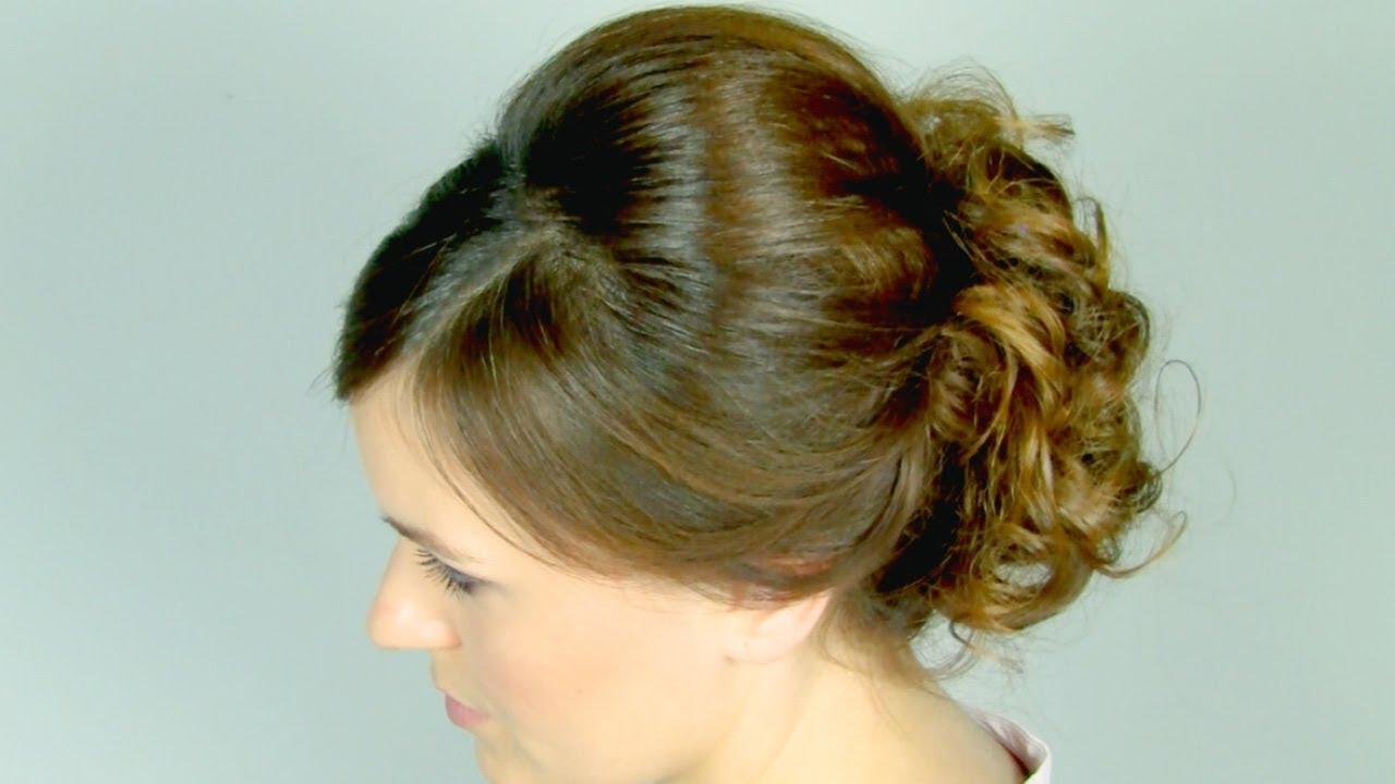Peinados para bodas f cil y rom ntico peinados faciles for Recogidos de famosas para bodas