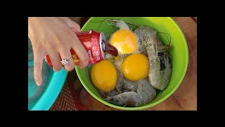 download lagu Wow Beautiful Girl Cooking Shrimp With Coca Cola - gratis