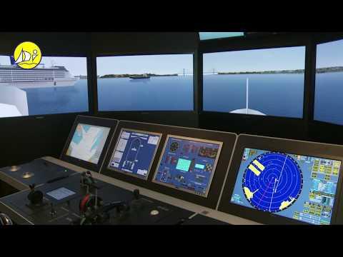 STCW95 Maritime training courses - Polaris ships bridge simulator - Diverso Impex