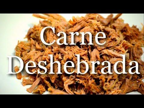 Carne deshebrada para burritos (Shredded Beef)- RECETA FÁCIL