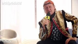 Salone del Mobile.Milano 2017 | TONON - Mac Stopa ci racconta il pouf River Snake