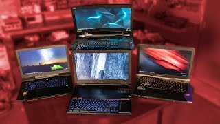 $20,000 of Gaming Laptops COMPARED