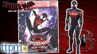 Spider-Man Into The Spider-Verse Titan Hero Series Miles Morales and Movie Countdown Collection