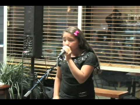 Lexy singing a cover of