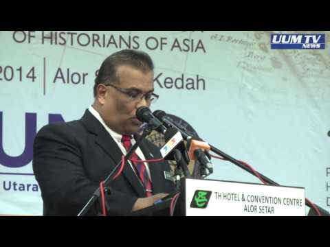 UCAPAN ALUAN NC UUM DI MAJLIS PERASMIAN PERSIDANGAN ANTARABANGSA SEJARAWAN ASIA KE 24 IAHA 2014