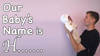 OUR BABYS NAME IS H... || Casey Barker Vlogs