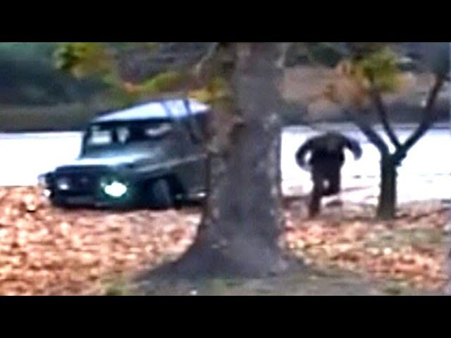 North Korean soldier runs for border in dramatic escape video