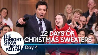 12 Days of Christmas Sweaters 2019: Day 4