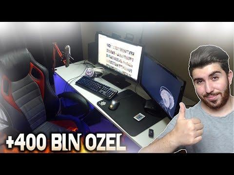400 BİN ÖZEL ODA VLOGU !! (BLoodRappeR)