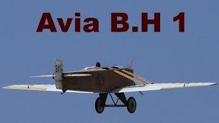 Avia B.H 1, Pardubice Airshow, 2018