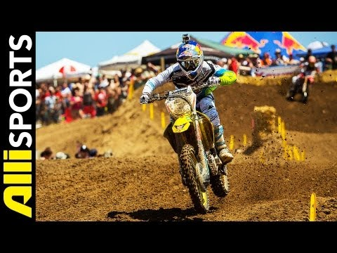 Best Of Hangtown Motocross Starts, Crashes, Passes + Finishes