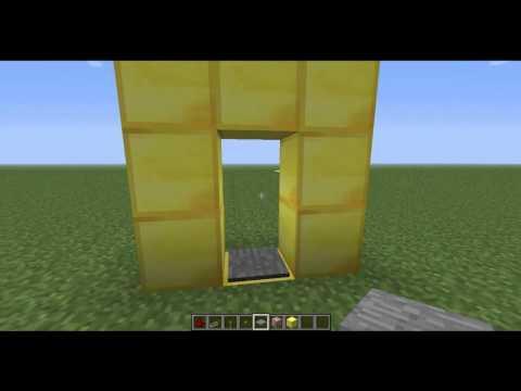 Minecraft: Crear un teletransportador sin MODs