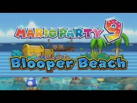 Mario Party 9 Party Mode - Blooper Beach