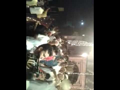 Yamunaji In Night 5 Aarti Vishram Ghat Mathura video