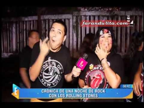 Espectaculos: Rolling Stones Asi Vivieron El Concierto Las Figuras De La Farandula [07-03-2016]