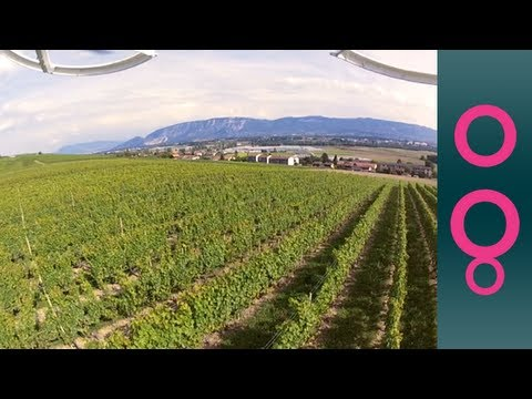 Wine meets technology with satellites and drones!