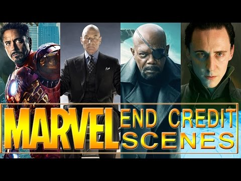 9 Best Marvel End Credit Scenes...So Far: Avengers, X Men & More!
